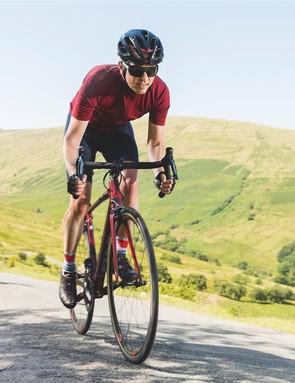 The bike isn't earth-shatteringly light, but it feels as though it is