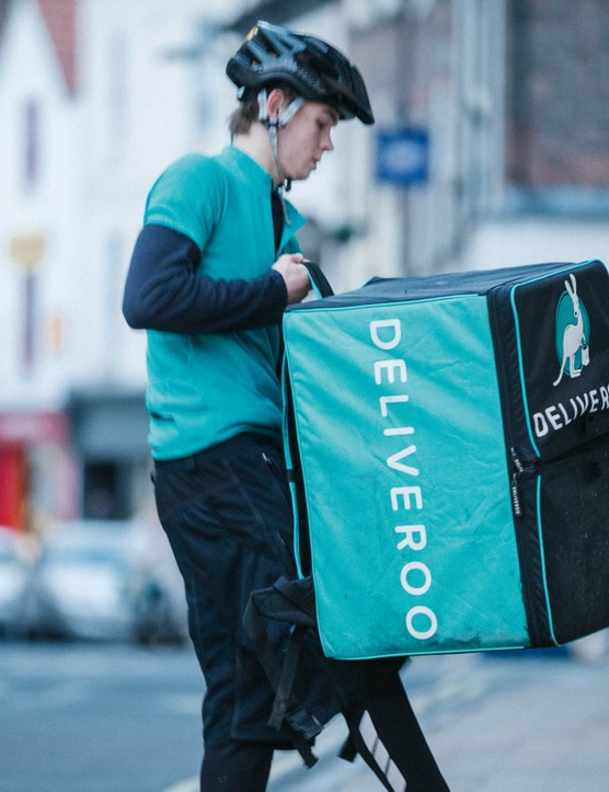 Deliveroo operates in 34 towns and cities in the UK, employing 3,500 cyclists