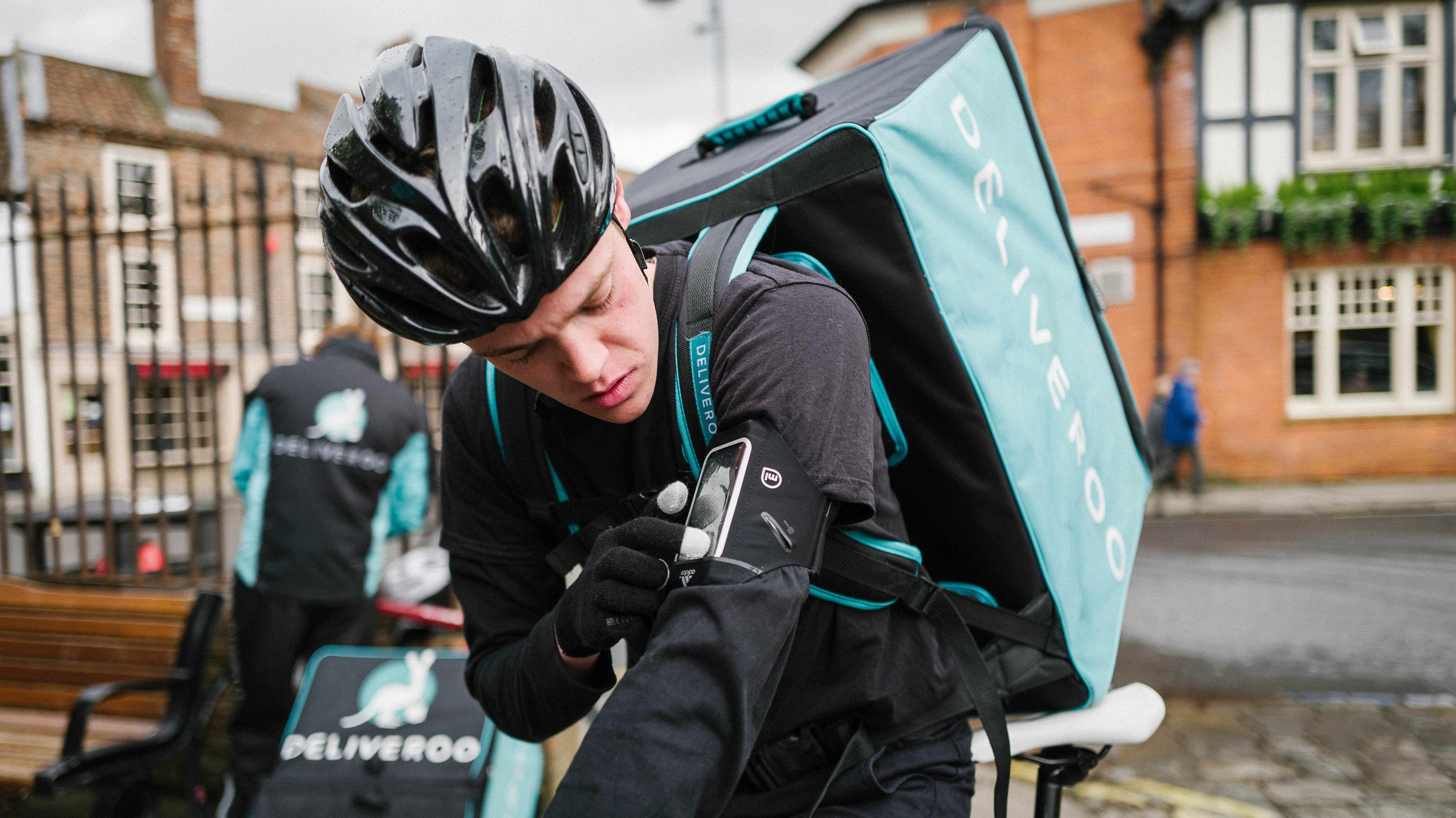 What's it like to strap on a Deliveroo pack for the evening? A rider describes his day