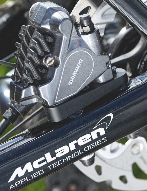 Working with F1 partner McLaren has provided vital ride data to develop the Roubaix