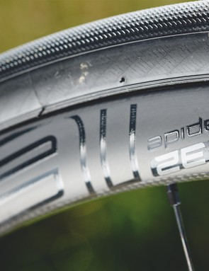 Pressure in the S-Works Turbo tyres didn't need to be altered when we tackled the cobbles