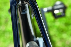 26mm S-Works tyres offer a big comfort patch for confident control