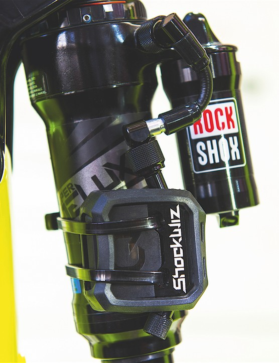 BikeRadar first saw the Shockwiz at Eurobike in 2016
