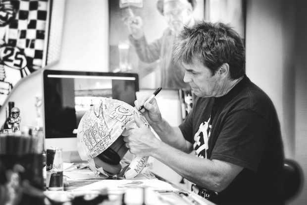 Troy Lee Designs creates 15 custom-painted helmets a week