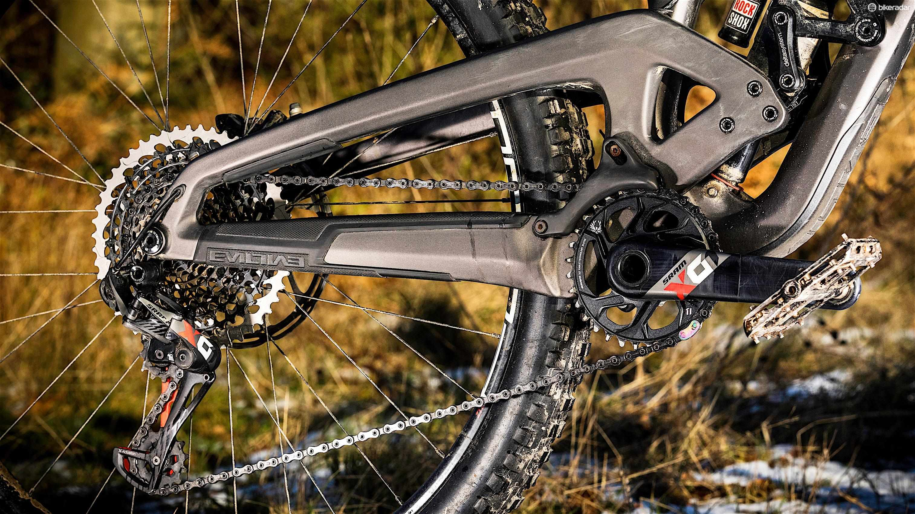 SRAM's X01 Eagle 12-speed transmission