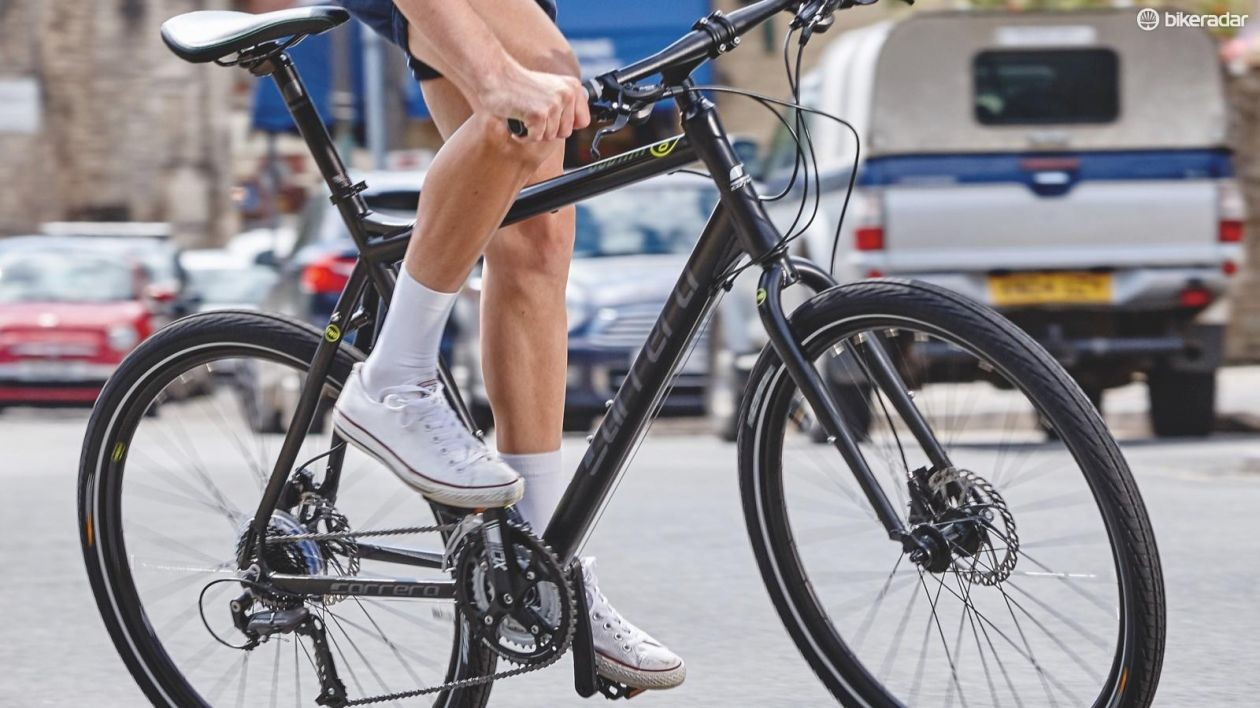 Cars don't kill people, bikes do. And shaved legs. You'll catch your death of cold, young man