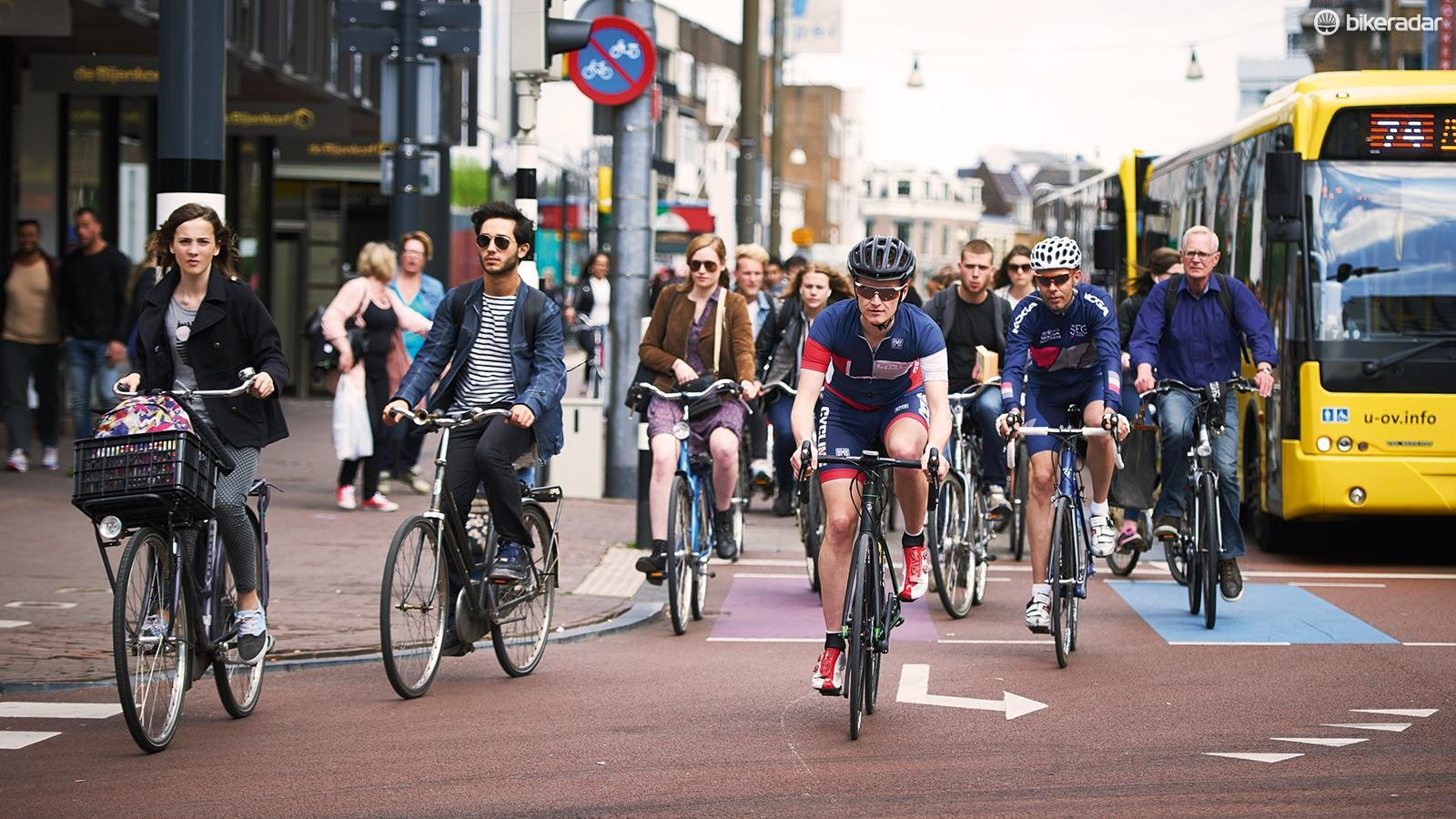 Many argue that it's attitudes and infrastructure that need to change rather than the law on wearing a helmet and often cite the Netherlands as an example