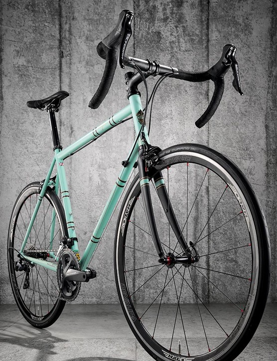 Carbon can't match the spring of a great steel frame, which the Wolfson gives you
