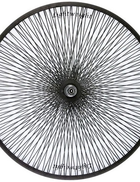 Lightweight tubular disc DT wheel