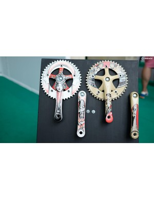 Cicli Art Lab sells hand-painted components or, if you ask nicely, will paint your own parts