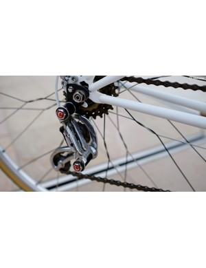 Campagnolo Gran Turismo components are particularly nice