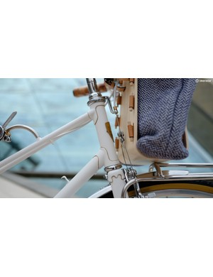 The frame itself is a Peugeot mixte design from the 70s