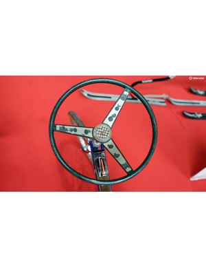 Prince Albert also has a Huffy with a steering wheel, and if that's not cool then we don't know what is