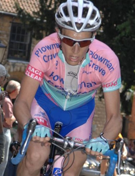 Simon Richardson on his way to taking third spot