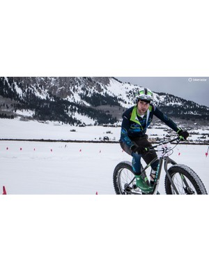 Justin Lindine is a professional mountain and cyclocross racer. Fat Bike Worlds was his first time racing a fat bike