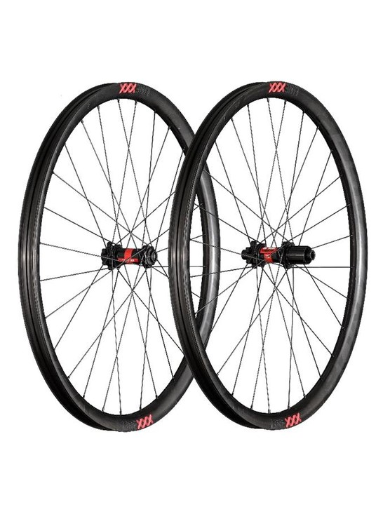 The Line XXX rims are 29mm wide internally and are made at Trek's headquarters in Waterloo, Wisconsin