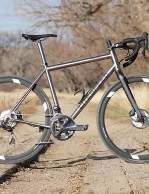 The Litespeed Cherohala SE is an endurance road bike with off-road options