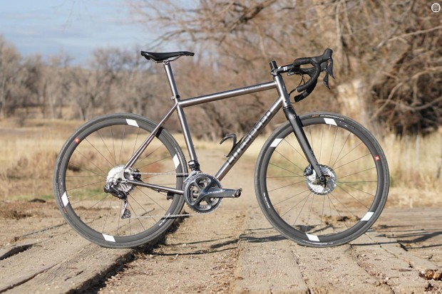 The Litespeed Cherohala SE is an endurance road bike with off-road options