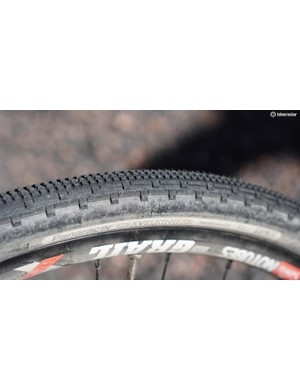 I took to calling the GravelKings the GravelFlings, as the tread tending to throw fine gravel up at the down tube. As a roadie, I found the tubeless tire to offer loads of grip without feeling too slow