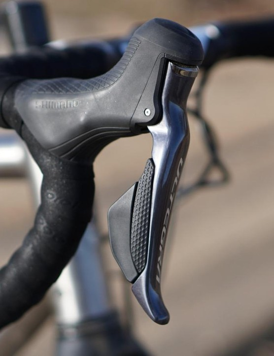 Shimano's Ultegra Di2 is very similar to Dura-Ace Di2 in feel and performance. It just weighs a little more