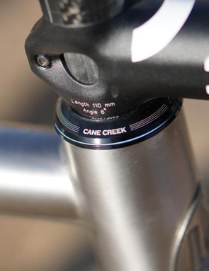 Cane Creek, another Southern US company, provides the oversize headset