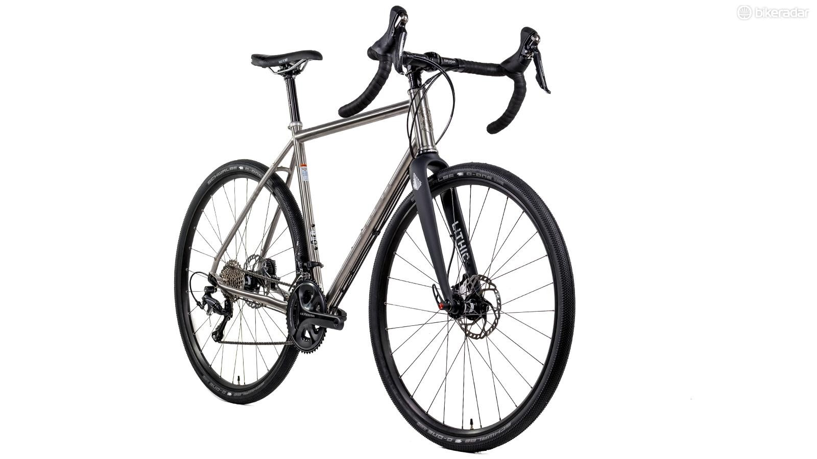The Hiili carbon fork will come standard on the Otso Warakin gravel bike