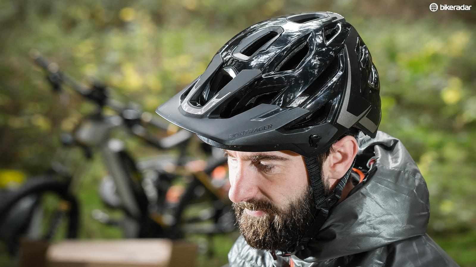 Bontrager's Lithos helmet is a good performer, but is heavier than some of the competition