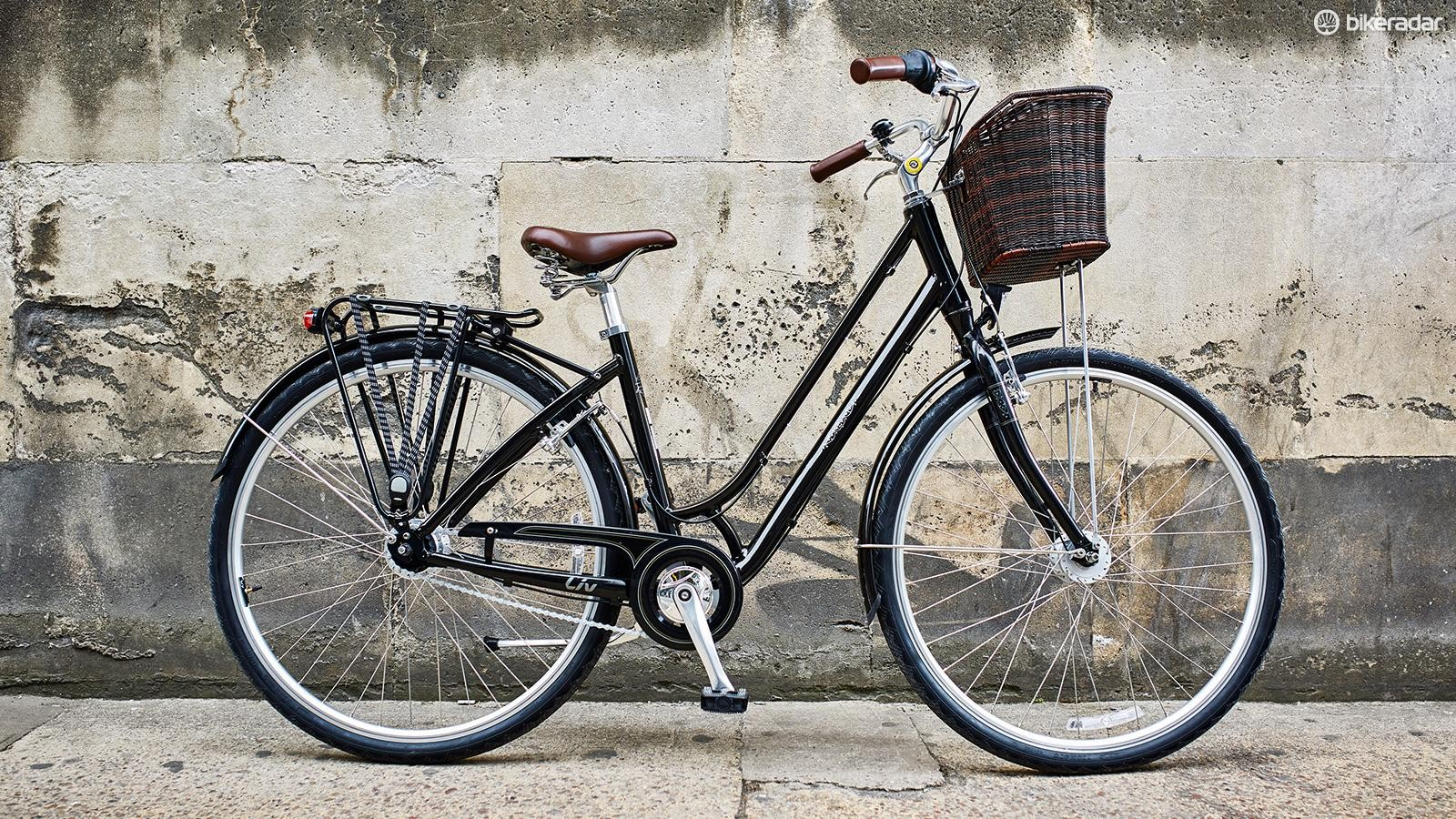 The Liv Flourish 1, an example of the more relaxed commuter bikes that Liv also makes
