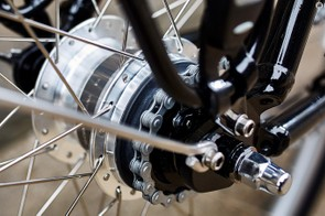 The sealed system offers low maintenance gears