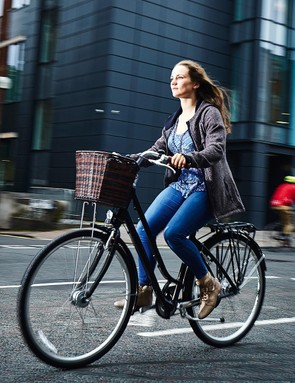 This is a wonderfully comfortable bike, easy to steer with great gearing for getting around town