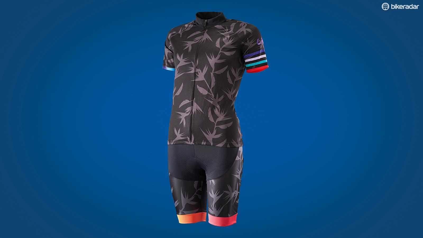 Liv Cycling Paradisa jersey and shorts