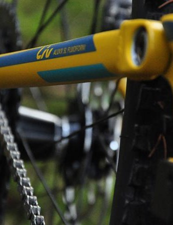 The Maestro suspension system with its rocker link helps gives a supple, controlled ride feel