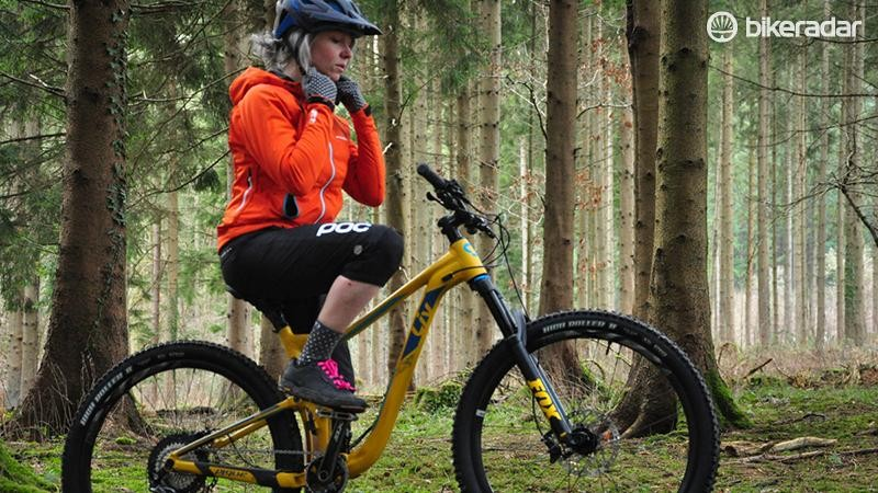 The Pique is a cross-country/trail focussed bike with women's specific geometry