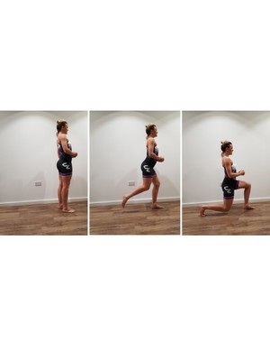 Reverse lunges help with balance as well as strength