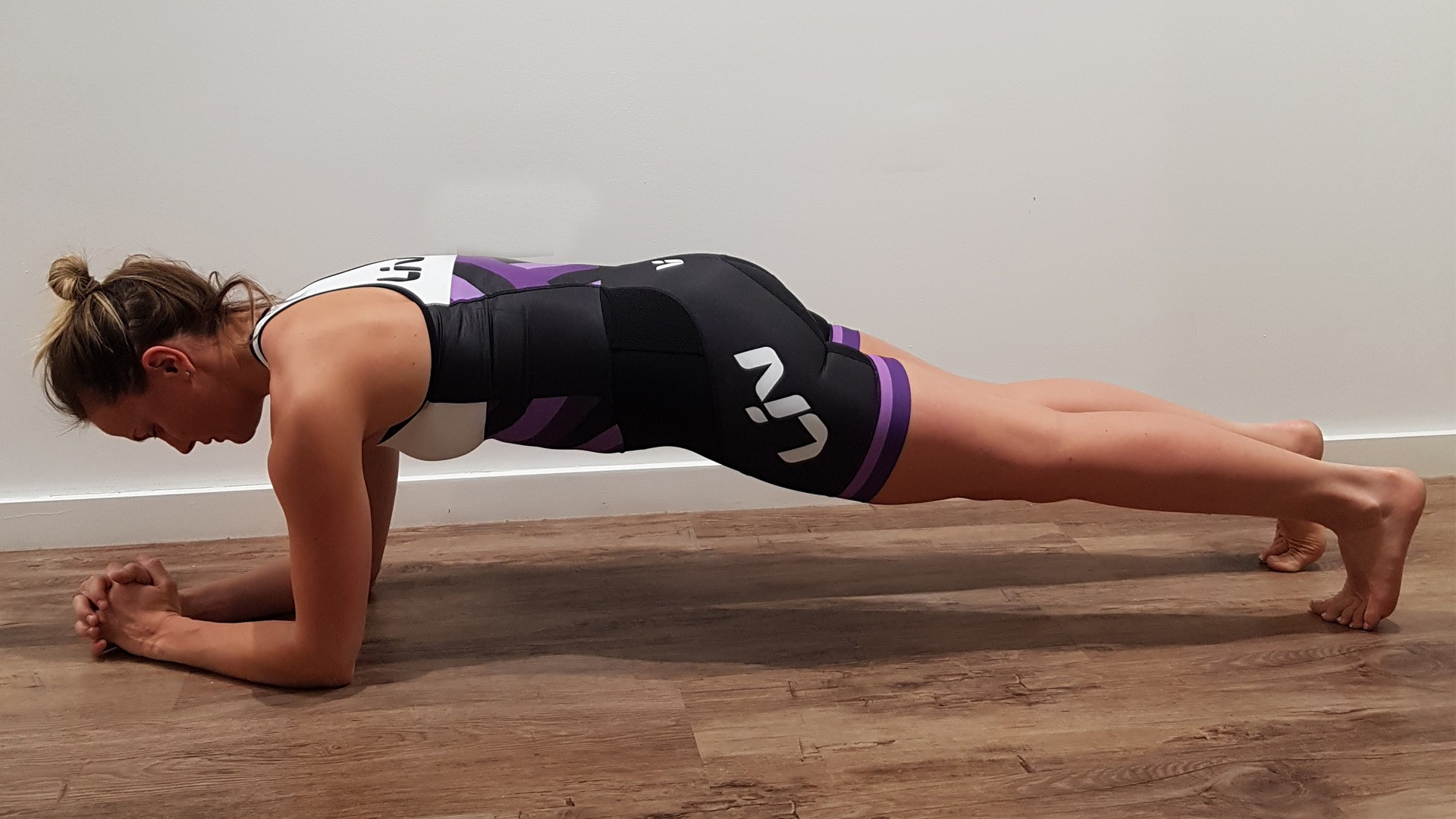 Tried and tested — the plank