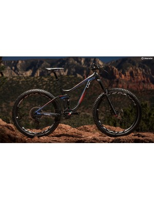 The Hail is a hard hitting enduro bike with women's-specific geometry