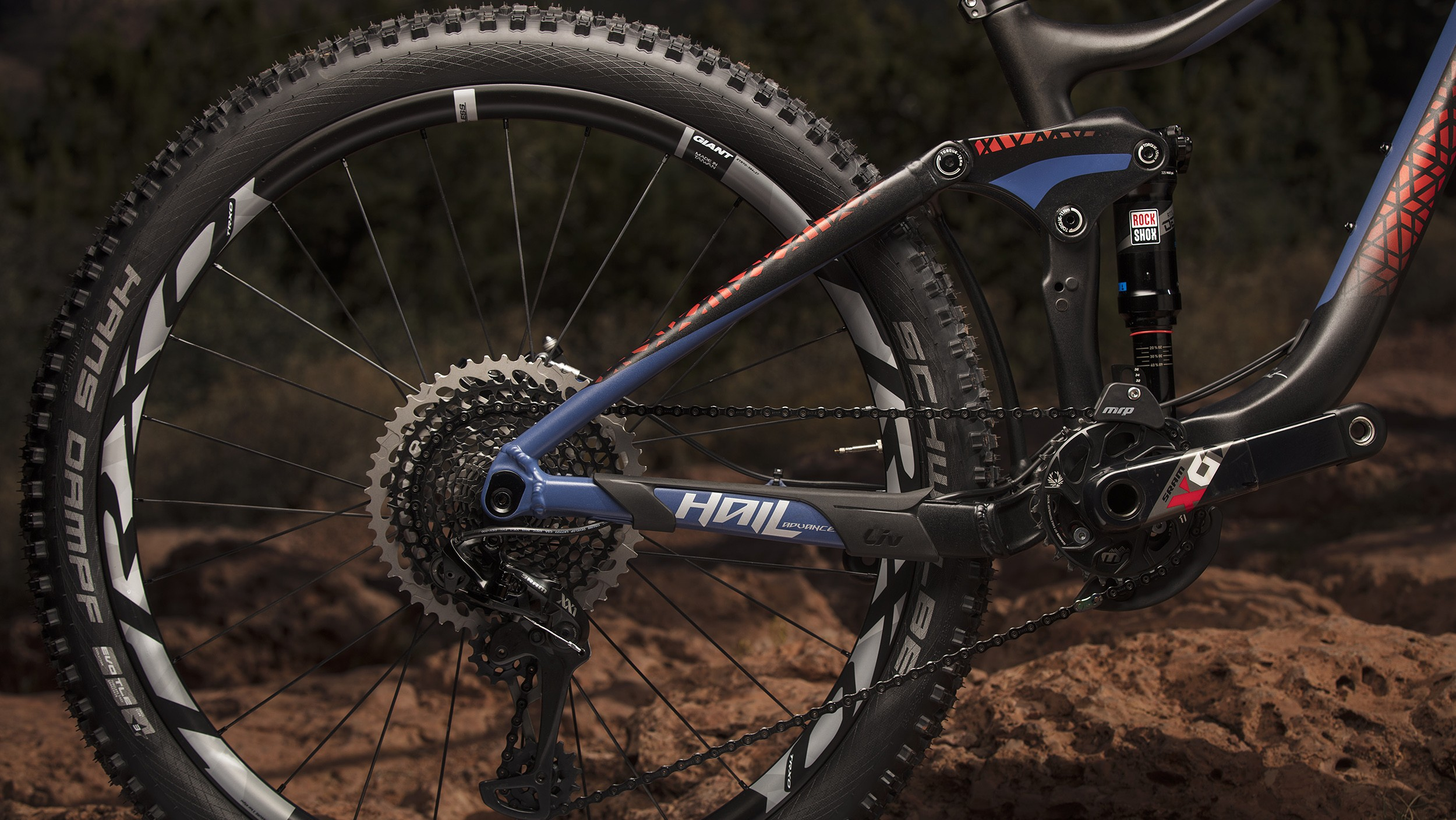 Both the Liv Hail and Pique feature the Advanced Forged Composite Link on all models, aluminium as well as carbon