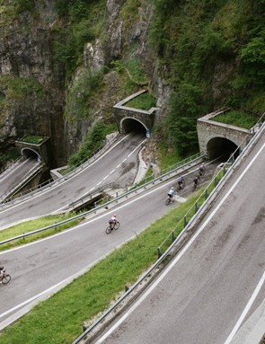 If you're going to test a lightweight bike that's designed for hills and racing, then you need a decent climb, such as the Passo del Bordo