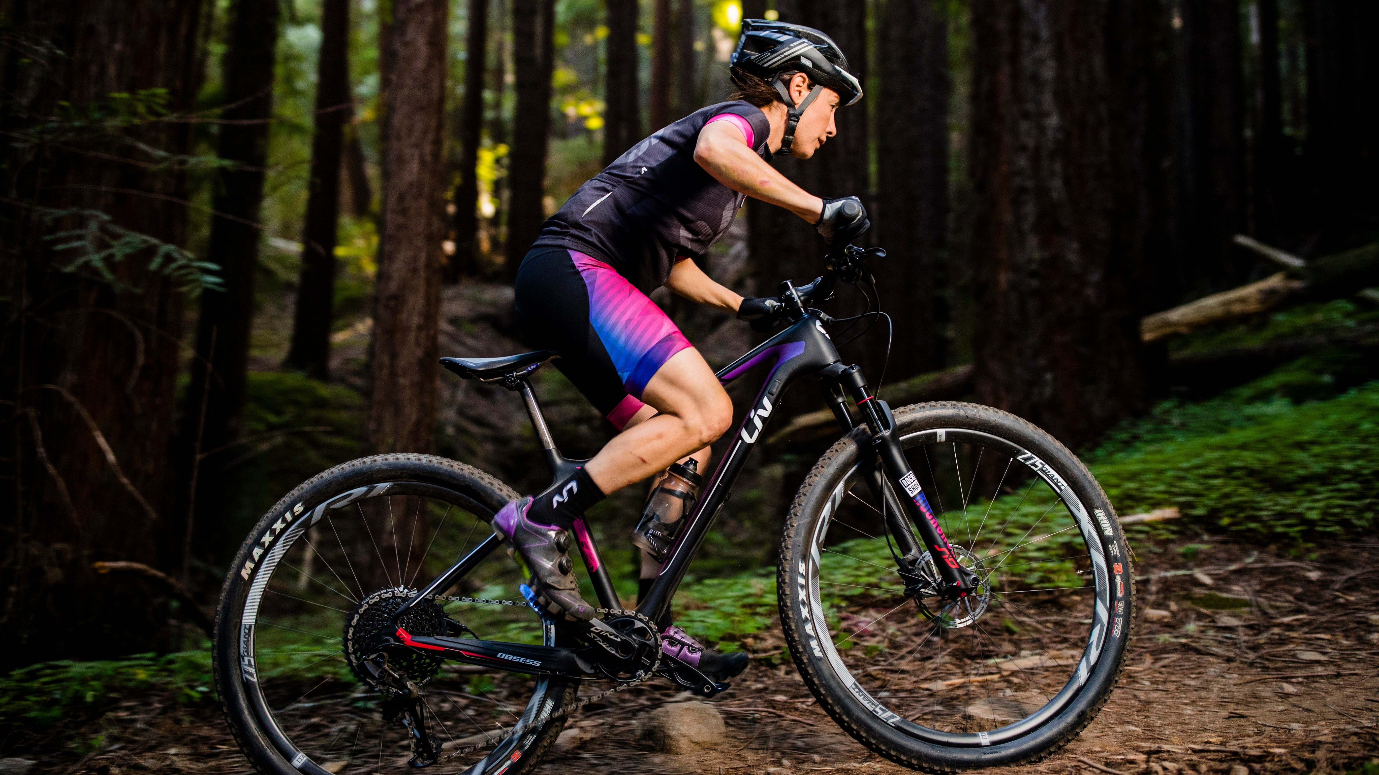 Liv believes that to get the best riding experience, women benefit from a bespoke frame