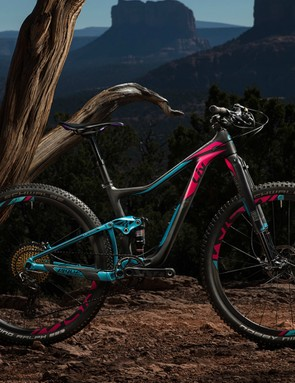 The new Liv Pique is cross-country trail bike that's capable of taking on technical terrain