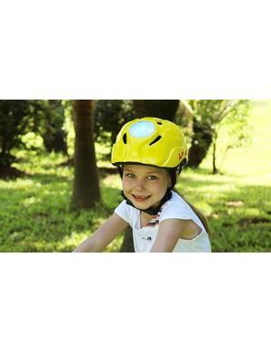Livall's kid's helmet sees built-in LED's for ultimate visibility