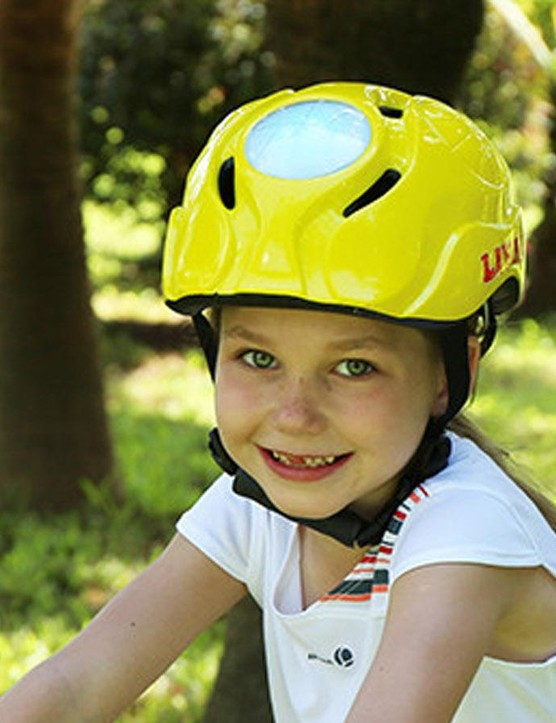 Livall's kid's helmet sees built-in LED's for ultimate visibility