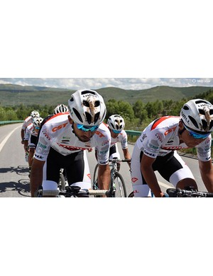 Livall designed a helmet for its UCI continental team, but it doesn't look like you can get it just yet