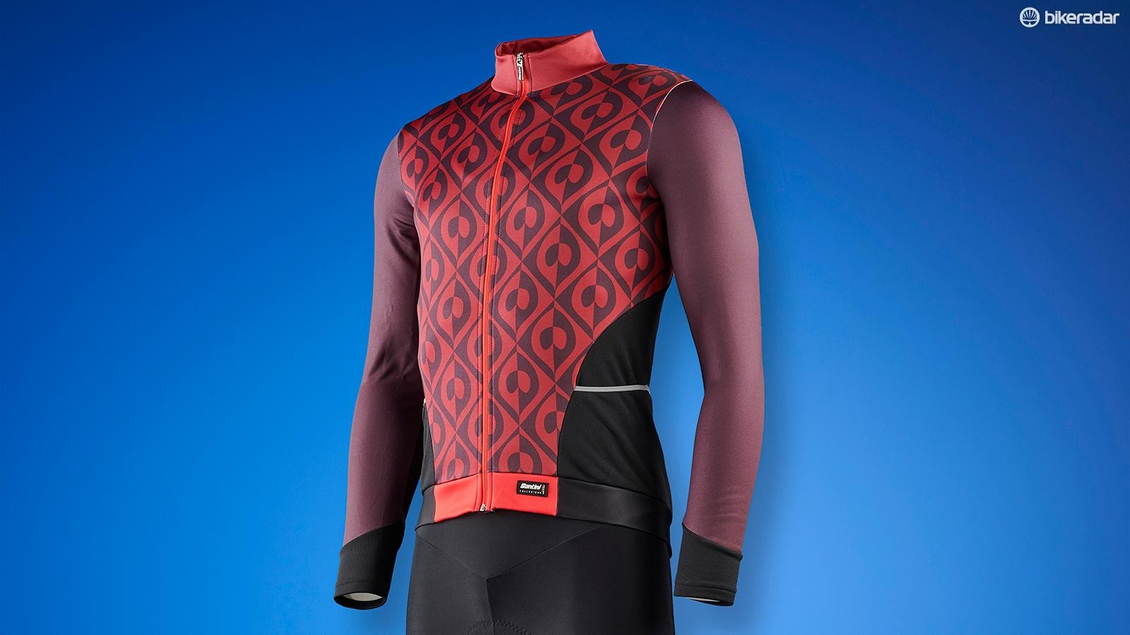 The Coral Jersey has striking looks with its peacock-inspired pattern