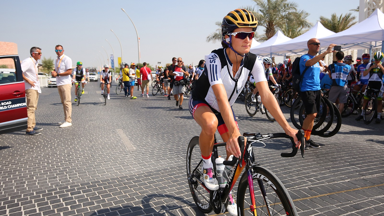 Lizzie Deignan is one of the most successful female professional cyclists racing today