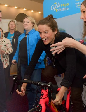 Deignan, ambassador for Cycle Expo Yorkshire, plans to keep riding during her pregnancy