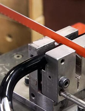 Locks were subjectedto a standard saw bladeand a tungsten item