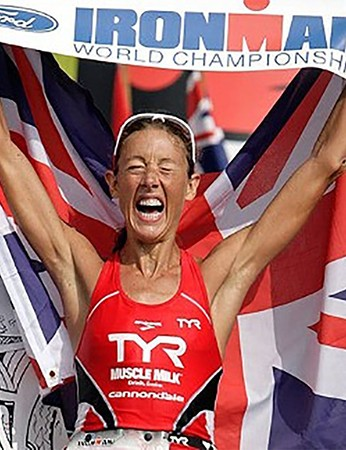 Four-time Ironman World Champion and world record holder Chrissie Wellington will be on stage Saturday