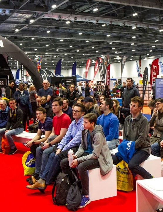 The 220 Triathlon Experts Stage is the place to go for all kinds of advice from top coaches, athletes and more