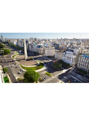 Plaza de la Republica, Buenos Aires